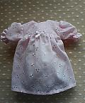 girls baby burial dress gown in Pink PRUDENT PETALS  born 23-24 weeks
