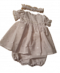 Premature baby loss Girls Baby Burial Gown Dress OUR ANGEL size 3-5lb