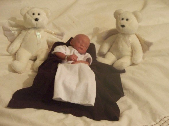 unisex tiny Baby loss Baby Burial clothes Shroud set Multi Faith size 1-2lb baby funeral