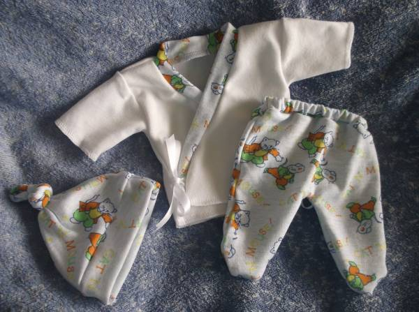boys tiny baby loss burial clothes stillbirth CAT n MOUSE born 20-22 weeks