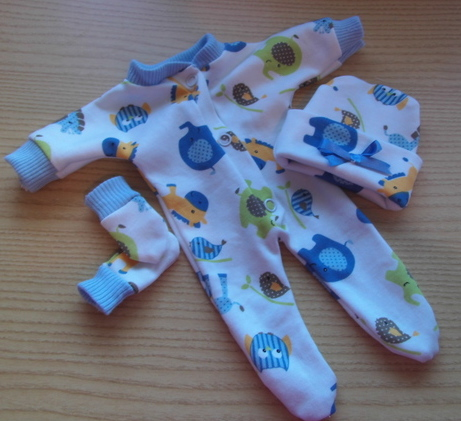 premature baby burial clothes smallest BLUE PONY WONDERS Boy born 24 weeks