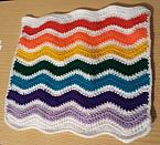 baby blankets burial casket RAINBOWS EDGE born 22 weeks