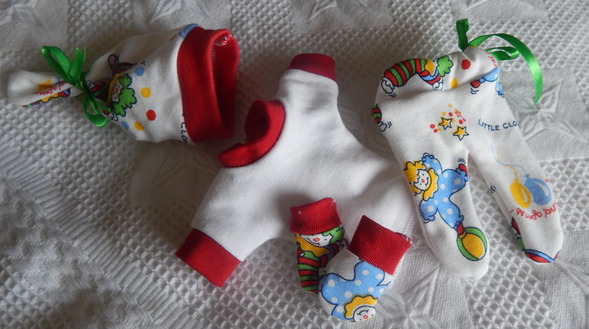 smallest baby boy clothes stillborn 0-1lb born at 19-20 weeks TUMBLE TOYS style