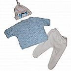 stillborn baby clothes boys JUMPER set born at 22 weeks