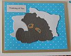 baby boys sympathy card infant loss burial cards sweet PILLOW REST