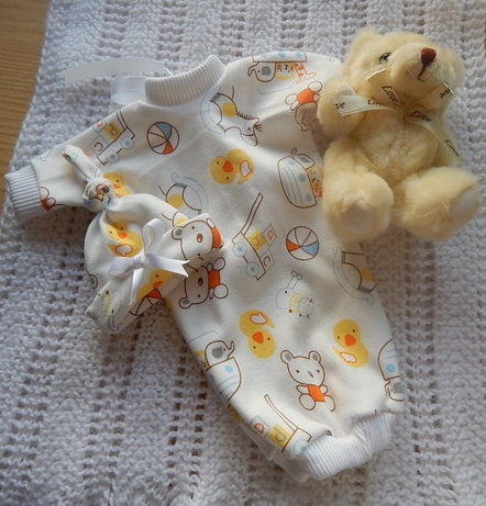 stillborn baby clothes TOYS OF TENDERNESS born at 20 - 21 weeks