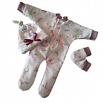 girls baby burial clothes baby at 24 weeks UNICORNS AND RAINBOWS