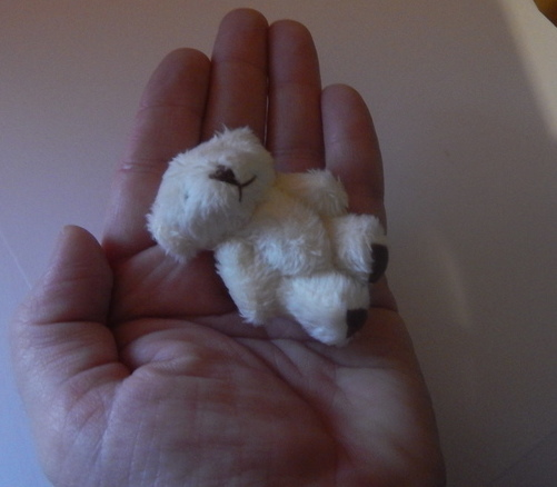 tiny teddy bears 6cm miscarriage FLUFFBALL baby loss