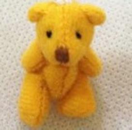 teddies  4cm WINNIE babies memory box teddy bear